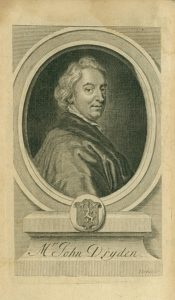 John Dryden by George Vertue