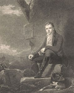 Sir Walter Scott, engraved by Abraham Raimbach