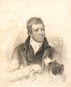 Sir Walter Scott, drawn and etched by William Nicholson